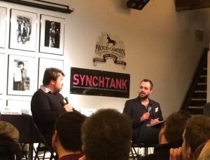 Tim Ingham interviewing Thomas Golubić